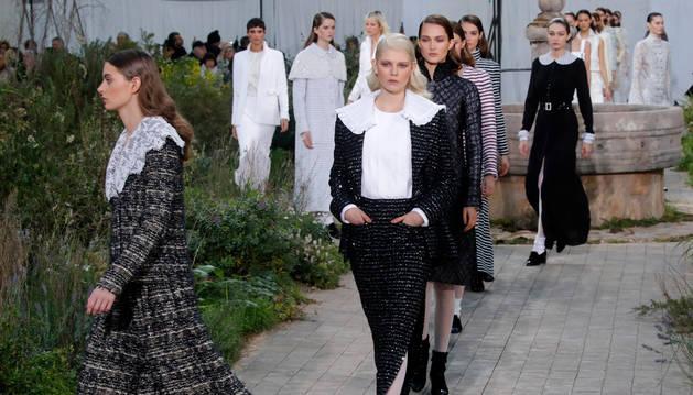Imagen del desfile de Primavera/Verano 2020 de Chanel.