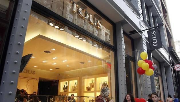 Foto de una tienda de la firma Tous.