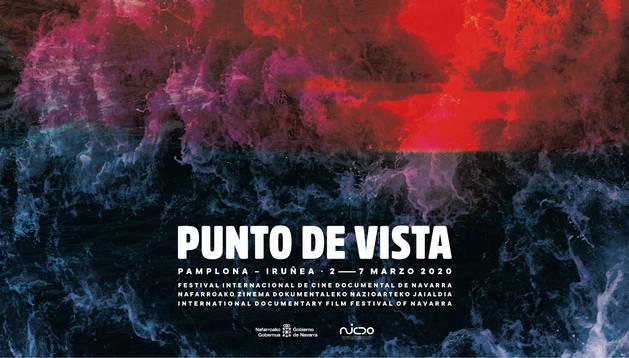 Imagen del cartel del Festival Punto de Vista 2020.