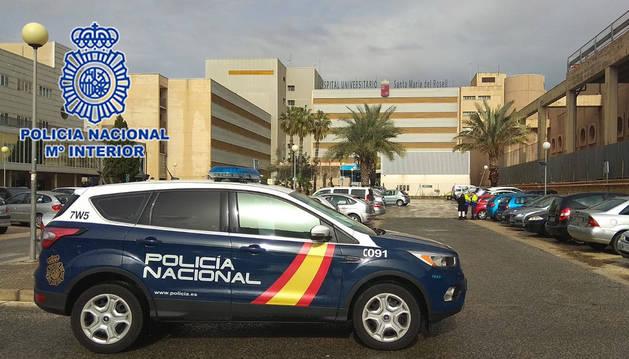 foto de Un vehículo de la Policía Nacional de Cartagena