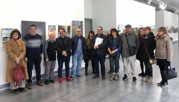 Representantes de Asocaciones de Enfermedades Raras de Navarra y de la Federación Española de Enfermedades Raras.