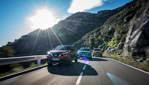 El nuevo Juke, más el Qashqai y el X-Trail, son la apuesta SUV del Nissan