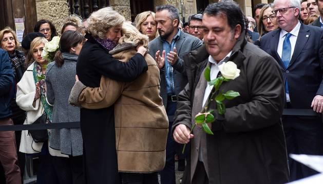 Homenaje a Gregorio Ordóñez, asesinado por ETA el 23 de enero de 1995