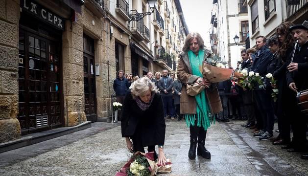 El legado de Ordóñez inunda la Parte Vieja donostiarra 25 años después