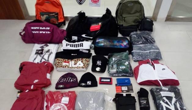 Detenido en Tudela tras robar en céntrica tienda de deportes