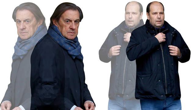 Foto de Archanco, Peralta y Vizcay, claves en el caso Osasuna.