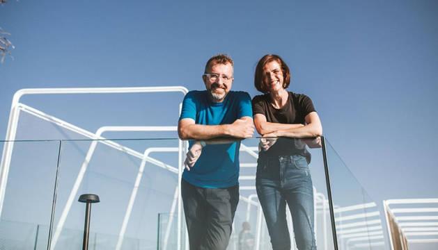 Ramón López-Neira y Beatriz Ciaurri, autores del proyecto.