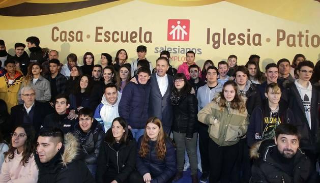 Todas las fotos de la inauguración del colegio Salesianos en Sarriguren