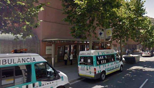 Exterior del Hospital Clinic de Barcelona.