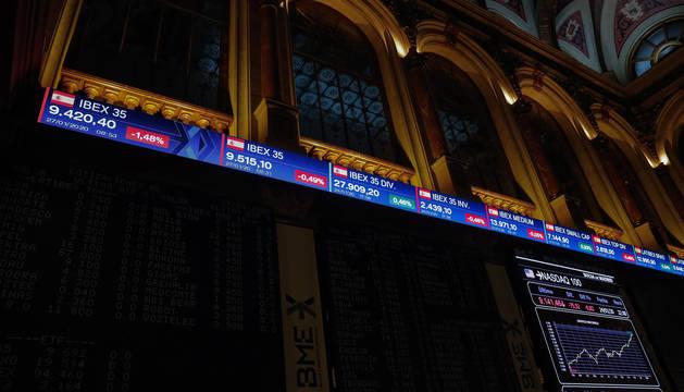 El Ibex 35 recupera los 9.400 en la apertura tras hundirse este lunes más de un 2%