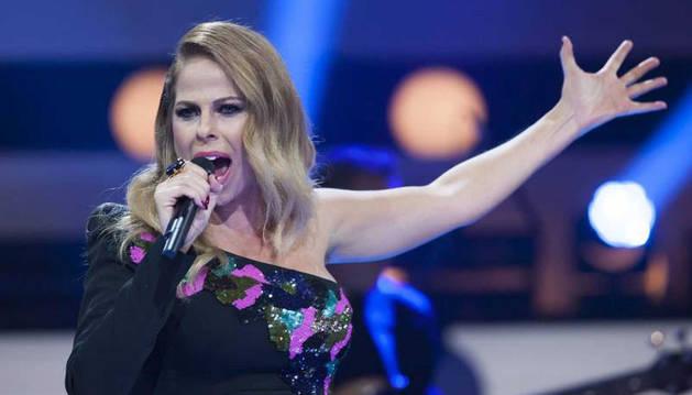 Foto de Pastora Soler en una actuación