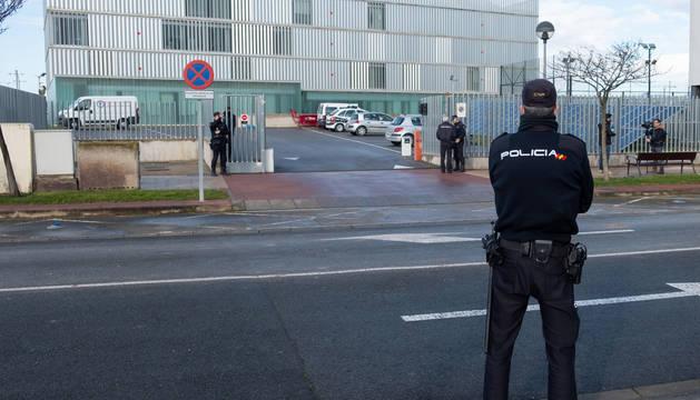 Jefatura Superior de Policía de La Rioja donde acudió la madre que se negó a declarar.