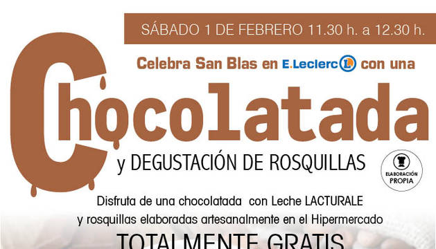 Chocolatada de E.Leclerc.