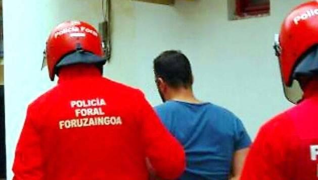 La Policía Foral arrestó durante el mes de enero a 174 personas