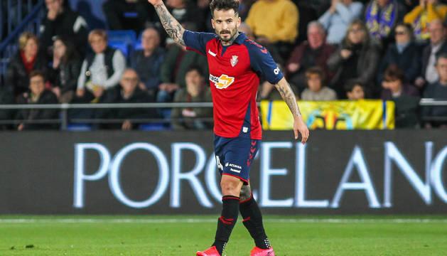 Rubén García volvió a ser el mediapunta como la temporada pasada en Segunda.