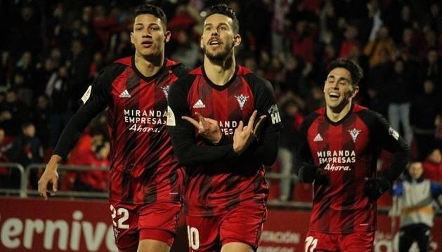 El Mirandés se planta en semifinales de Copa tras tumbar al Villarreal