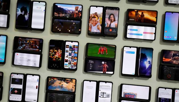 foto de Móviles de la empresa LG