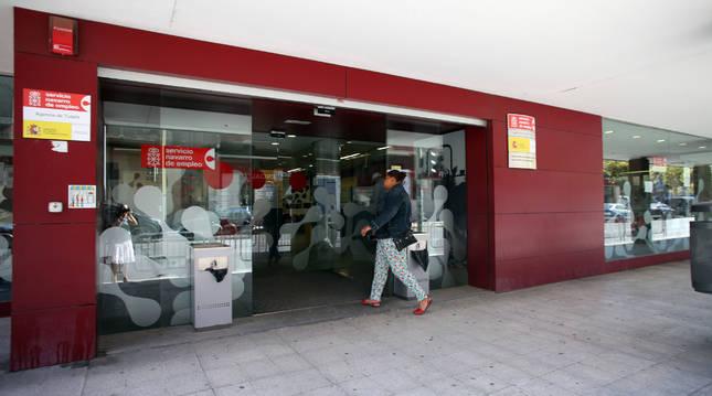 Foto de la Agencia de Empleo de Tudela.