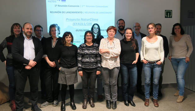 foto de Participantes en la reunión del proyecto Naturclima