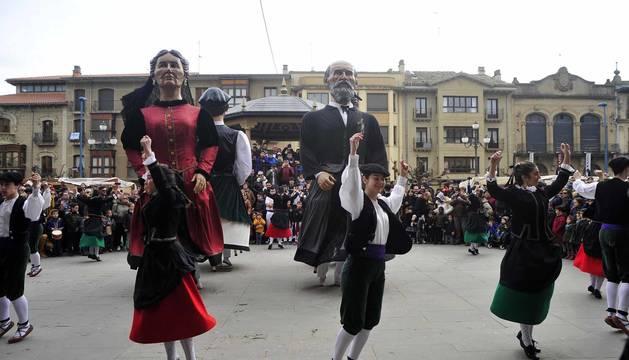Todas las fotos de la celebración de las ferias de febrero en Tafalla