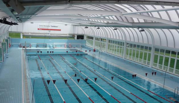 Instalaciones del centro deportivo Guelbenzu.