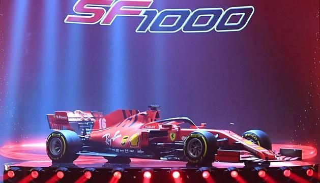 Fotos de la presentación del Ferrari SF1000