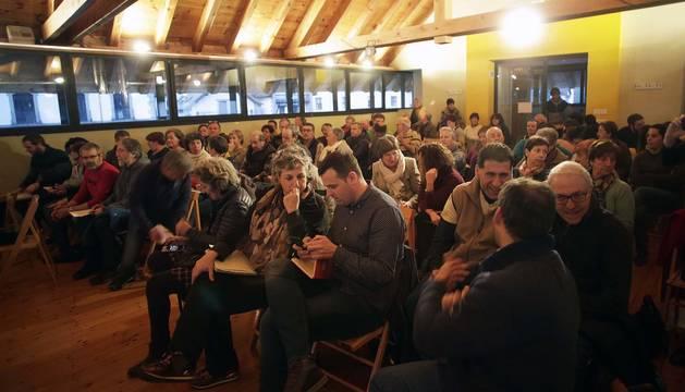 El público asistente al foro DN en Vivo celebrado en Ochagavía.
