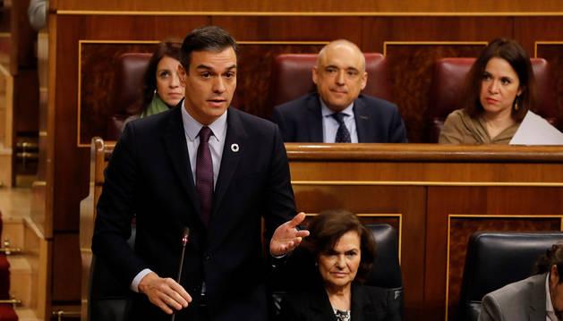 Sánchez se refiere a Juan Guaidó como el líder de la oposición en Venezuela