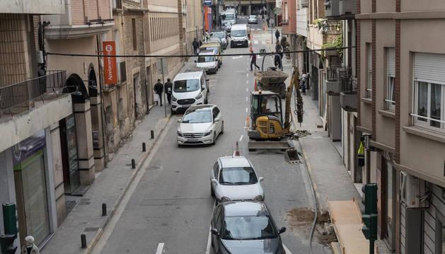 La céntrica calle Capuchinos, que se cerrará al tráfico el miércoles.