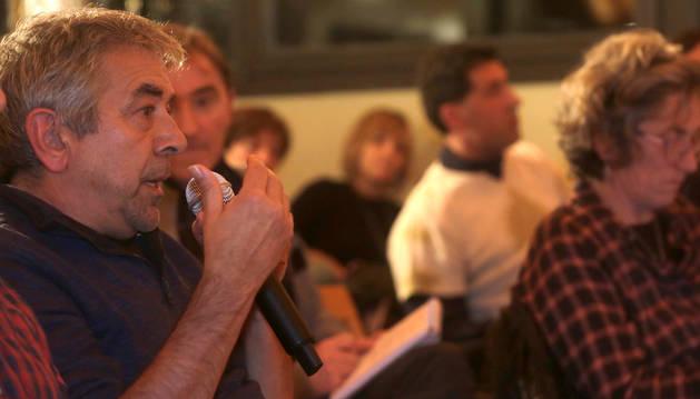 Mikel Aoiz, de Ochagavía y miembro de Bizirik Gaude.