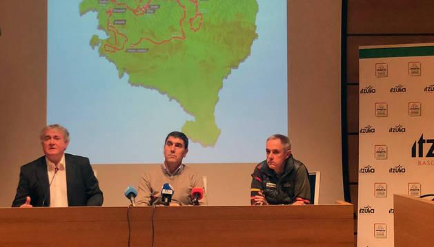 Presentación del recorrido de la Vuelta al País Vasco 2020.