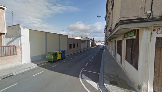 Foto de la calle Fuente de la Salud de Tudela.