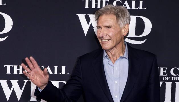 Foto del actor Harrison Ford, en la presentación de 'The Call of the Wild'.