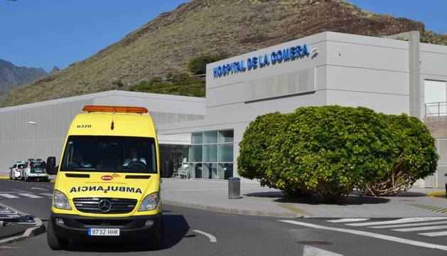 Foto de la fachada del hospital de La Gomera.