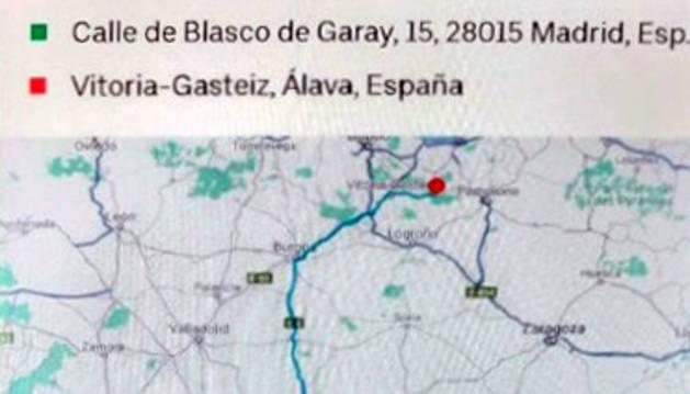 Detenido en Olazagutía por no pagar los 1.093 euros de un servicio de VTC