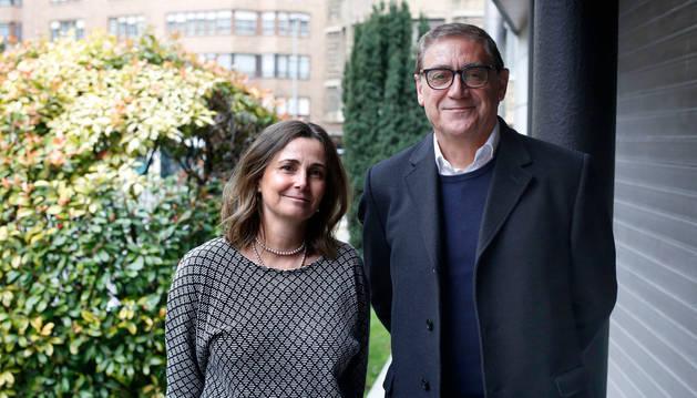 Rocío Álvarez y Máximo Valenciano, directora de organización y procesos, y presidente de Inycom, respectivamente.