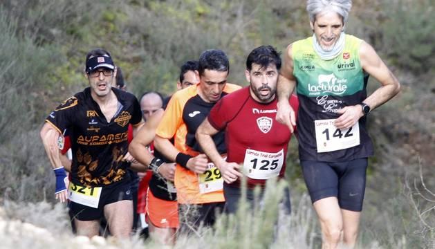 Galería de fotos de la carrera que sirvió como Campeonato Navarro de trail running.