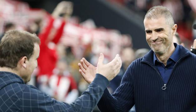 Gaizka Garitano, entrenador del Athletic.