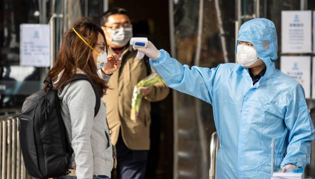 foto de Medidas contra el coronavirus en Guangzhou (China)
