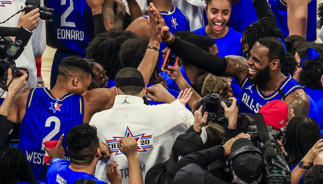 El equipo de LeBron se proclama campeón del All-Star