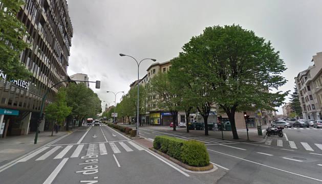 Estos son los cortes de tráfico para este martes en Pamplona