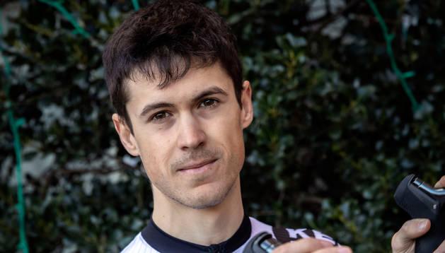 El estellés Sergio Araiz ha debutado esta temporada con el nuevo equipo navarro Kern Pharma