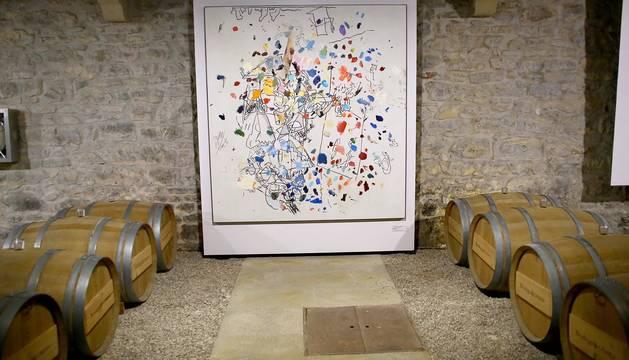 Colección de arte contemporáneo de Bodegas Otazu.