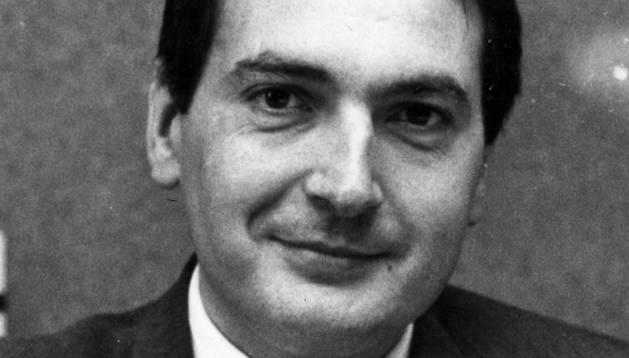 Javier Miranda en 1991.