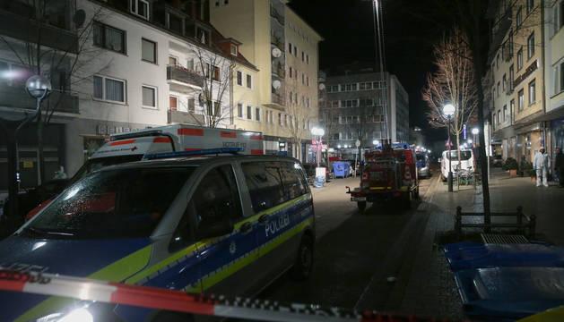 Al menos once muertos tras los tiroteos en la ciudad alemana de Hanau