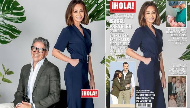 Isabel Preysler y los Reyes protagonizan las portadas de las revistas del corazón esta semana