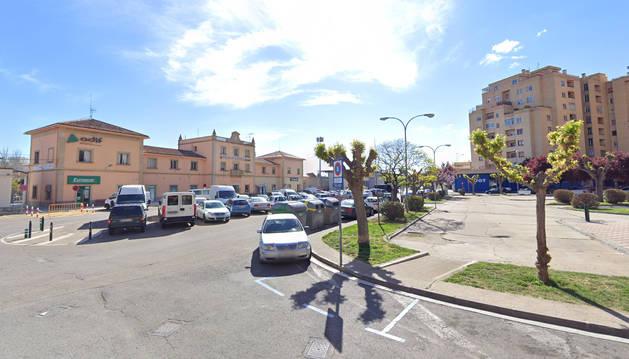 Foto de la calle Cuesta de la Estación, en Tudela.