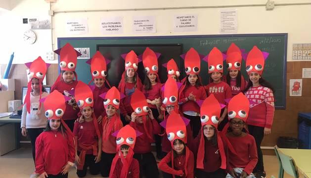 Fotos de la celebración de los carnavales escolares en Navarra