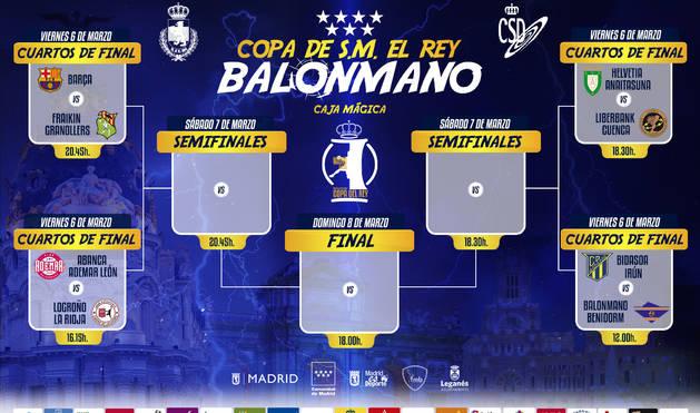 El Helvetia iniciará la Copa el viernes 6 de marzo a las 18.30 horas
