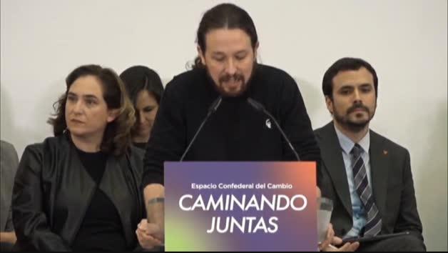 """Vídeo   Iglesias: """"No vamos a regalar ni medio flanco de ataque a la oposición de la ultraderecha"""""""